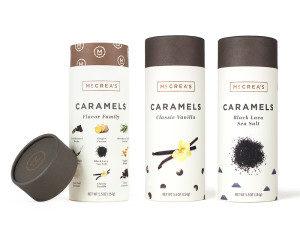 McCrea's Caramels Top Three Flavors